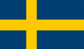 Flag icon for Swedish